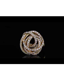 De Grisogono Matassa Diamond Rose Gold Ring - De Grisogono Jewelry