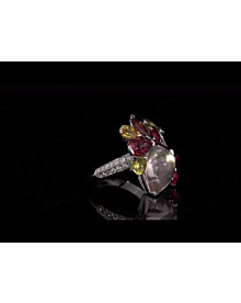 Cartier Sorbet Diamond Cocktail Ring For Sale Opulent Jewelers