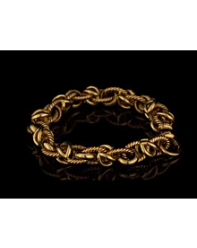 Bulgari Vintage Yellow Gold Chain Link Bracelet For Sale Opulent Jewelers