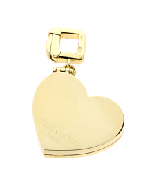 Louis Vuitton Heart Locket Gold Charm Pendant - Louis Vuitton Jewelry