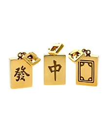 Louis Vuitton Limited Edition Mahjong Tile Gold Set - Louis Vuitton Jewelry