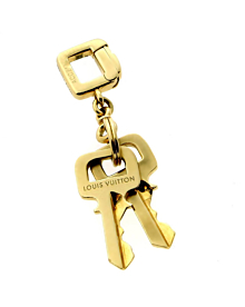 Louis Vuitton Gold Key Pendant Charm Necklace - Louis Vuitton Jewelry