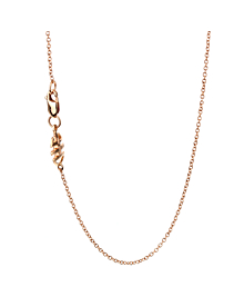 Mimi Milano Citrine Pearl Diamond Necklace
