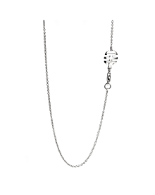Mimi Milano Milky Quartz Pearl Diamond Necklace - Mimi Milano Jewelry