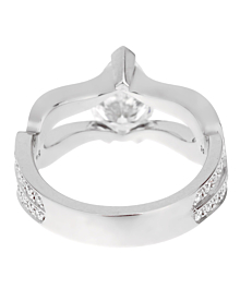 Piaget Jardin Secret Pear Diamond Engagement Ring - Piaget Jewelry