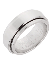 Piaget Possession White Gold Spinning Ring Sz 6 - Piaget Jewelry