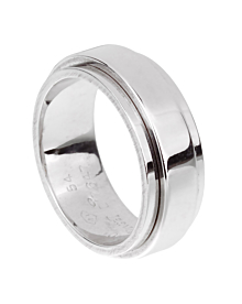 Piaget Possession White Gold Spinning Ring Sz 6 3/4 - Piaget Jewelry