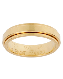 Piaget Possession Yellow Gold Spinning Ring Sz 6 1/4 - Piaget Jewelry
