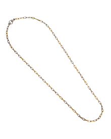 Pomellato Two Tone Chain Link Vintage Necklace