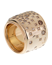 Pomellato Sabbia Diamond Band Gold Ring - Pomellato Jewelry