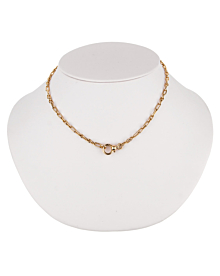 Pomellato Vintage Yellow Gold Chain Link Necklace - Pomellato Jewelry