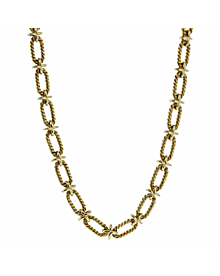 Tiffany & Co Woven Gold Sautoir Necklace - Tiffany and Co Jewelry