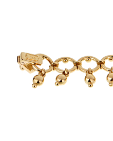 Tiffany & Co Vintage Beaded Yellow Gold Bracelet