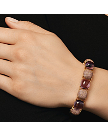 Tiffany & Co. Amethyst Sugar Stacks Gold Bracelet - Tiffany and Co Jewelry