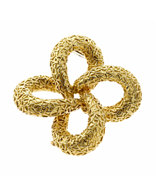 Van Cleef & Arpels Gold Brooch Pendant - Van Cleef and Arpels Jewelry
