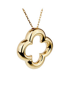 Van Cleef & Arpels Vintage Alhambra Gold Necklace - Van Cleef and Arpels Jewelry