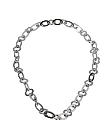 Van Cleef & Arpels White Gold Byzantine Necklace