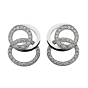 Audemars Piguet Millenary Diamond White Gold Earrings