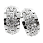 Cartier Panthere Oriane Diamond White Gold Earrings
