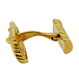 Cartier Safety Pin Yellow Gold Cufflinks
