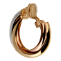Cartier Trinity Large 18k Gold Hoop Earrings