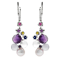 Chanel Mademoiselle Pearl Diamond Earrings