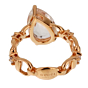 Gucci Diamond Topaz Rose Gold Cocktail Ring