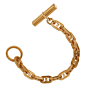 Hermes Chaine D'Ancre Yellow Gold Bracelet