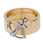 Hermes Yellow Gold Anchor Band Ring