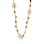 Marco Bicego Paradise Pearl Gemstone Gold Necklace