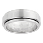 Piaget Possession White Gold Spinning Ring Sz 7 3/4