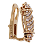 Piaget Vintage Diamond Yellow Gold Earrings