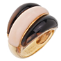Van Cleef Arpels Angel Skin Coral Bombe Yellow Gold Ring