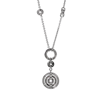 Bulgari Astrale Diamond White Gold Necklace