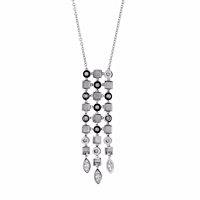 Bulgari Lucea Diamond White Gold Necklace 2