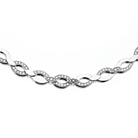 Cartier Diadea Diamond White Gold Necklace 2