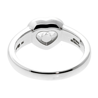 Chopard Happy Diamond Ring White Gold 821084 2