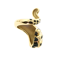 Dior Mitza Panther Gold Lacquer Ring