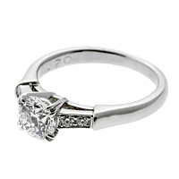 Harry Winston Diamond Engagement Ring 2