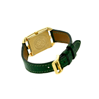 Hermes Yellow Gold Cape Cod Wristwatch