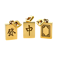 Louis Vuitton Limited Edition Mahjong Tile Gold Set 2