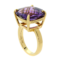 Tiffany & Co Amethyst Gold Ring 1