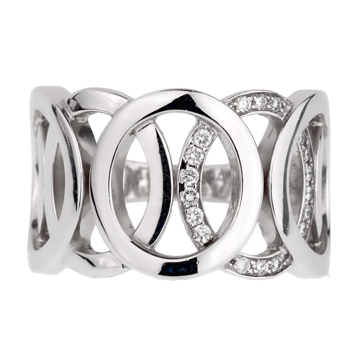 Audemars Piguet Millenary Diamond White Gold Ring