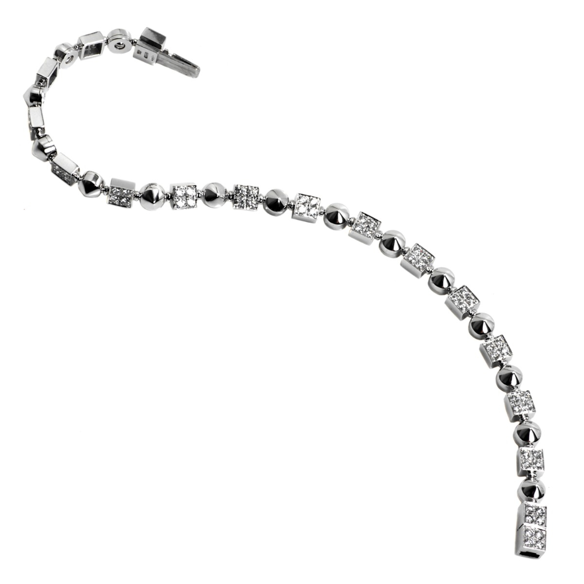 Bulgari Lucea Diamond Tennis Bracelet