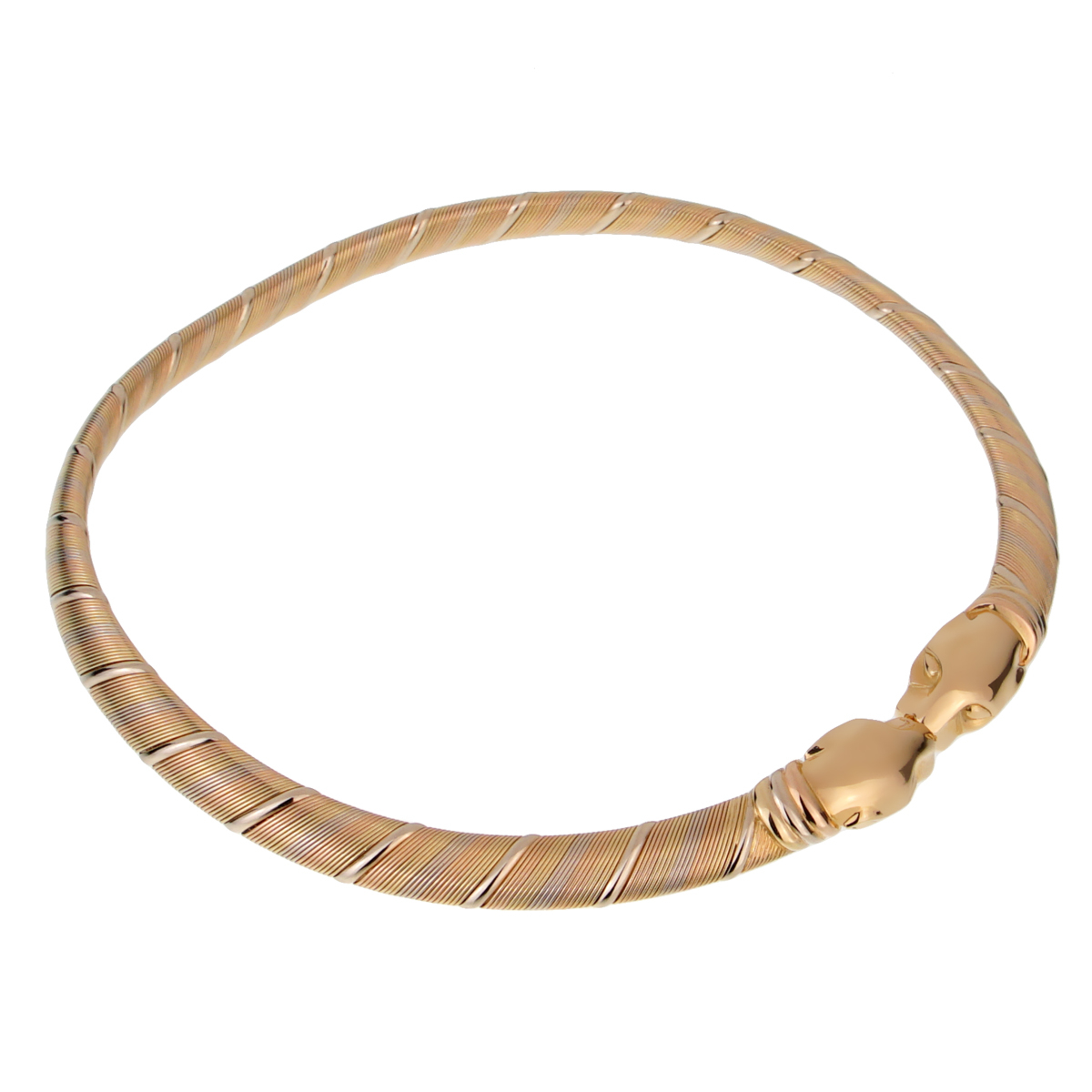 Cartier Panthere 18k Gold Choker Necklace