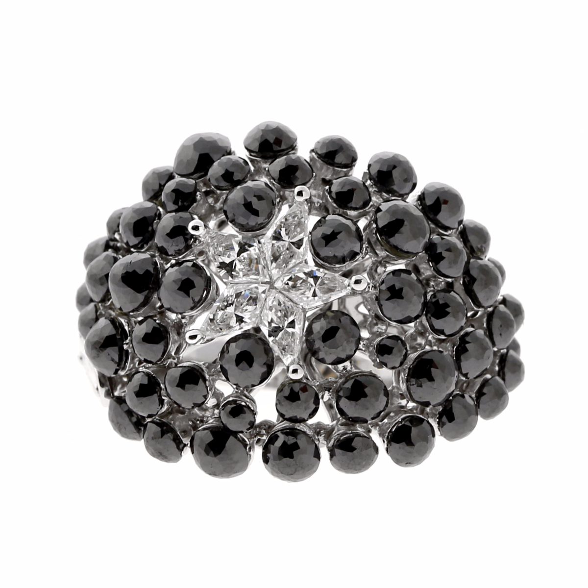 Charade Diamond Cocktail Star Ring