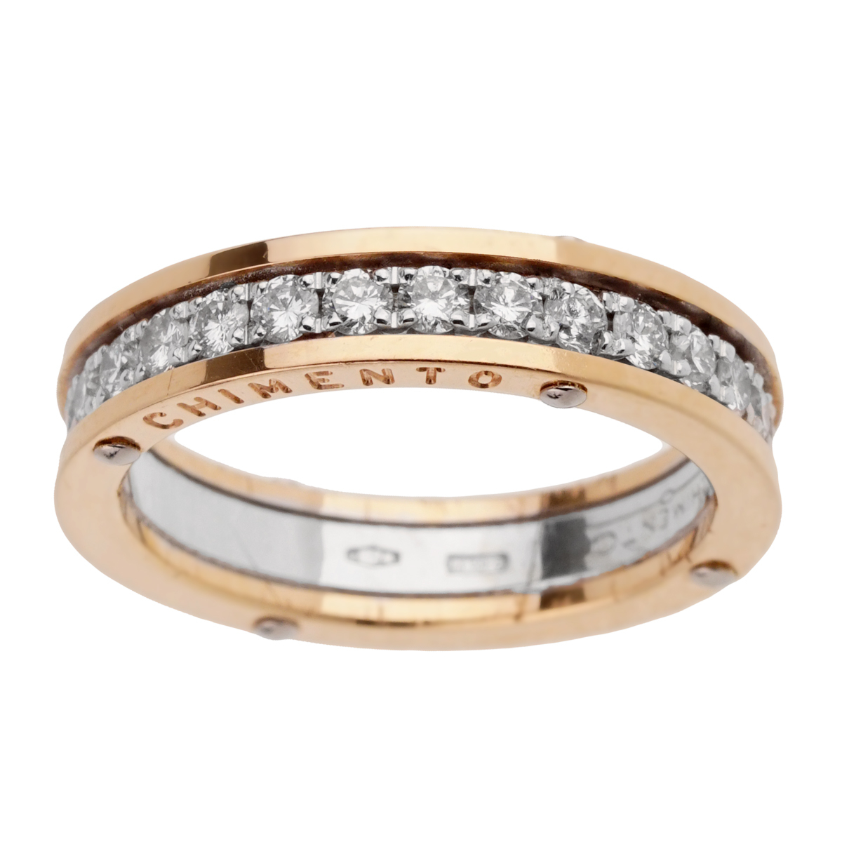 Chimento Diamond Eternity White Gold Ring