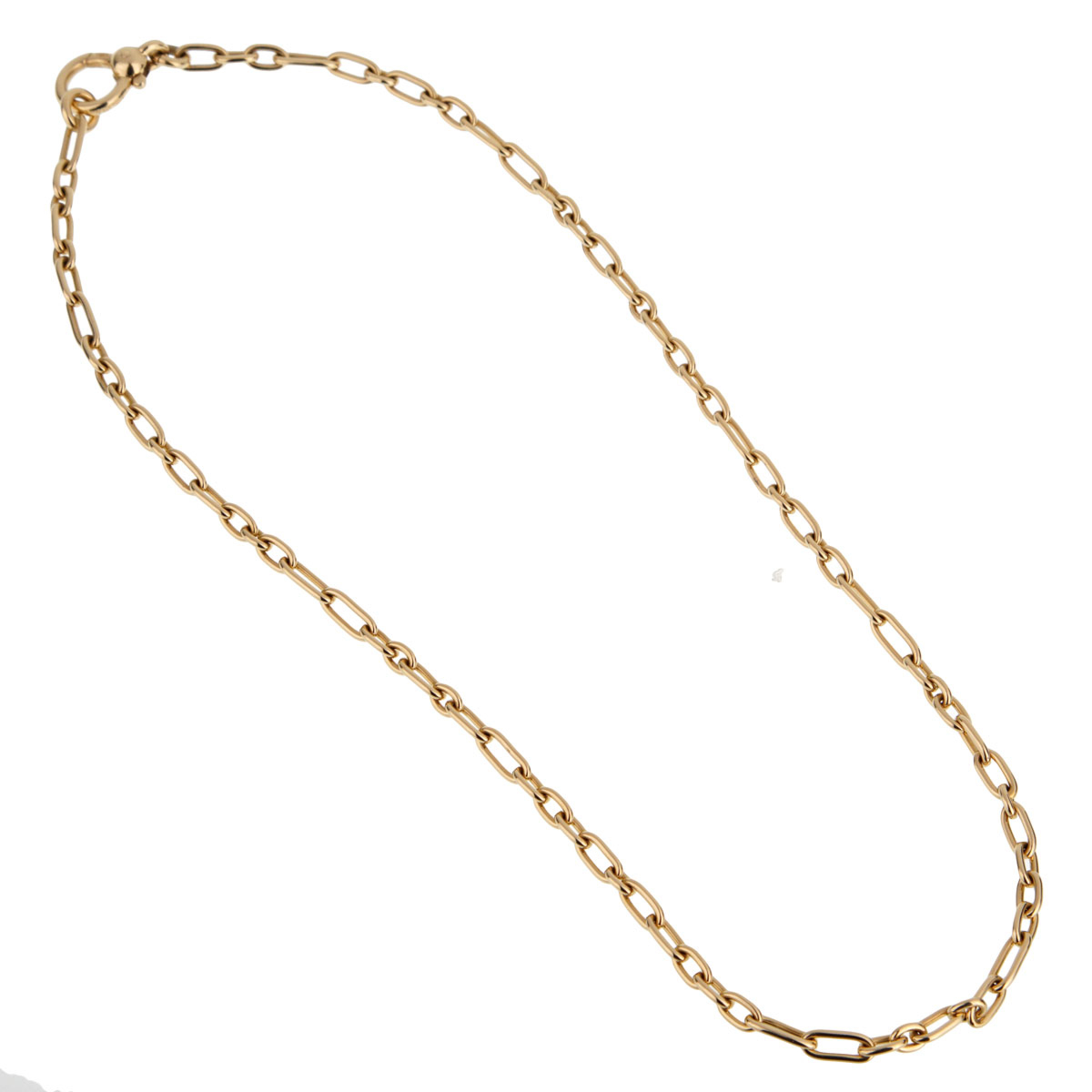 Pomellato Yellow Gold Chain Link Necklace