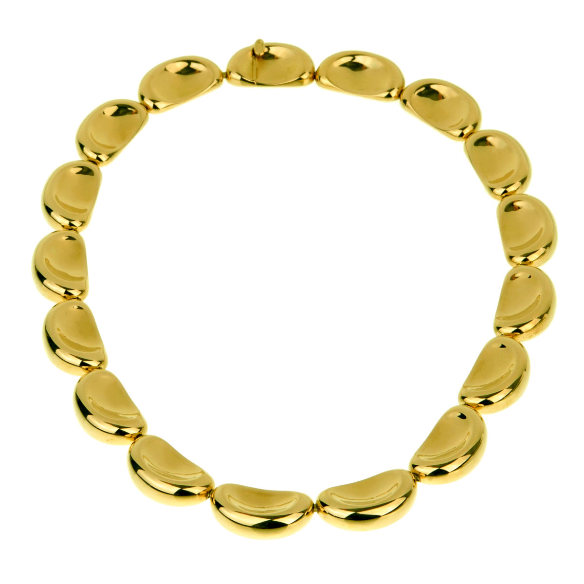 Van Cleef Arpels Important Yellow Gold Necklace