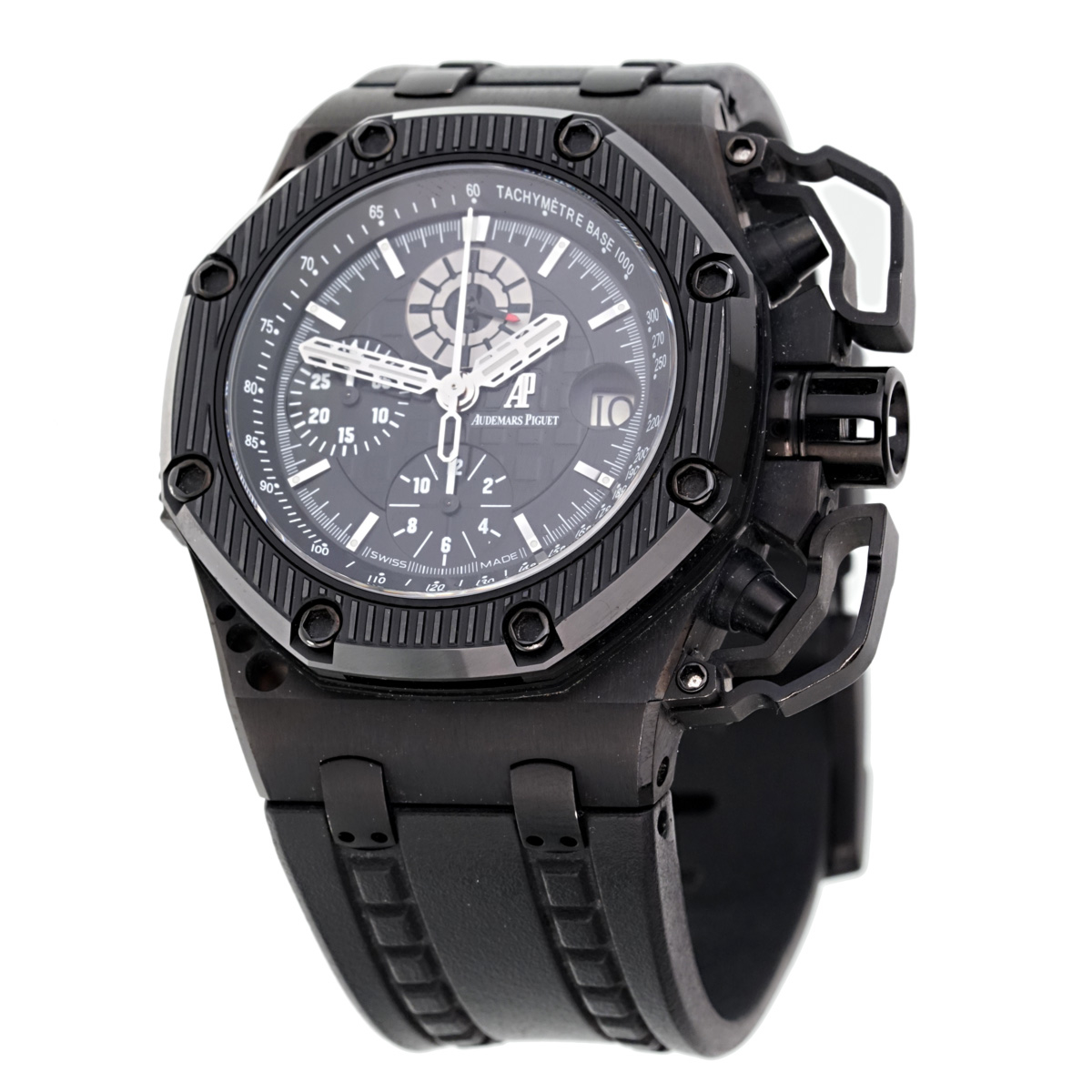 Audemars Piguet Survivor Black PVD Watch 2616510.00.A002CA.01 - Audemars Piguet Jewelry